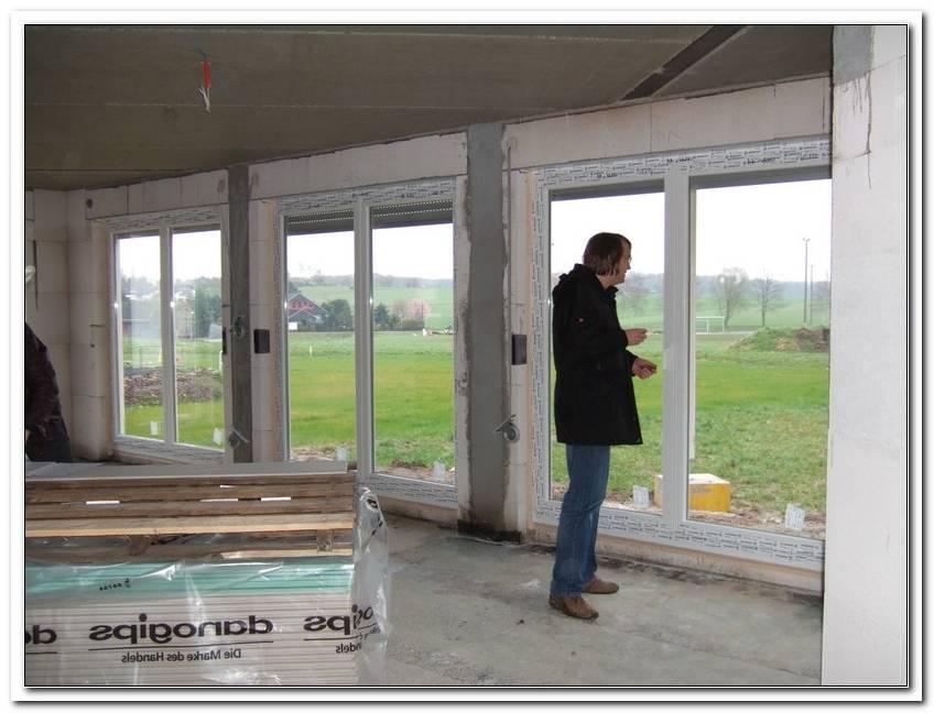 Wie Werden Bodentiefe Fenster Eingebaut