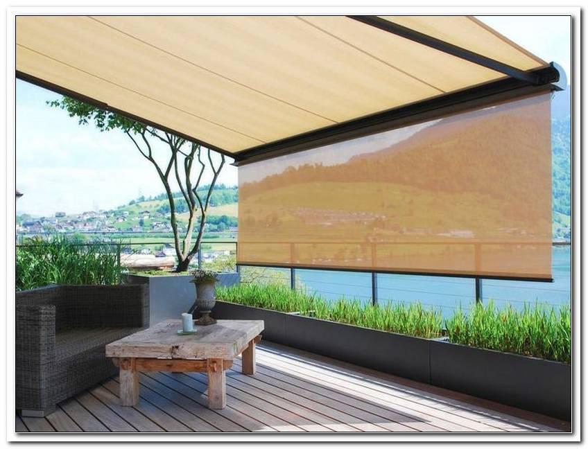 Wind Und Sonnenschutz F?R Terrassen