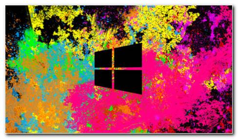 Windows 8 Color Splash HD Wallpaper