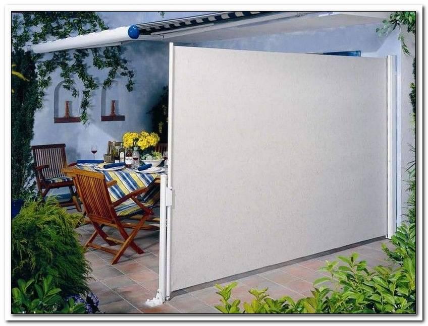 Windschutz Terrasse Ausziehbar