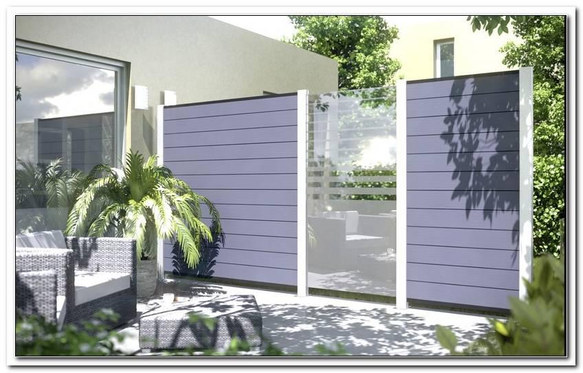Windschutz Terrasse Kunststoff