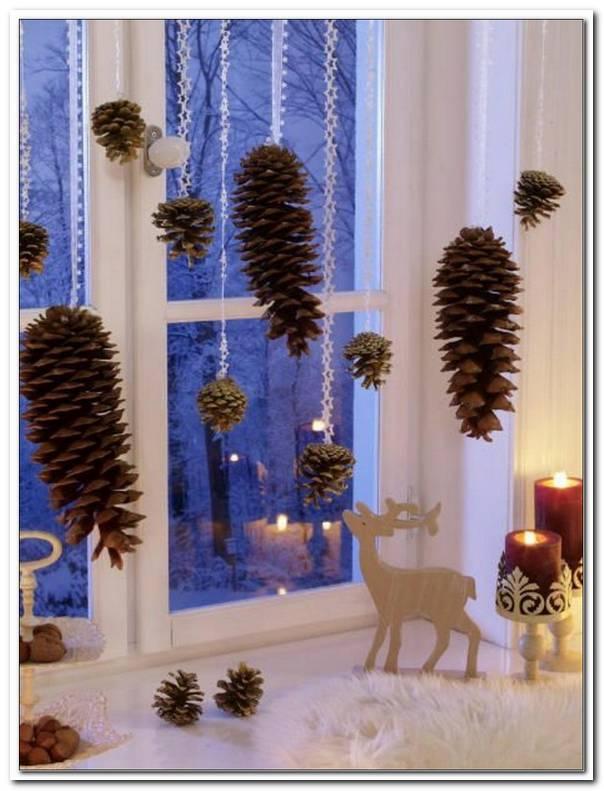 Winter Dekoration F?R Fenster Selber Basteln
