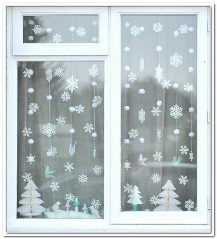 Winter Dekoration Fenster
