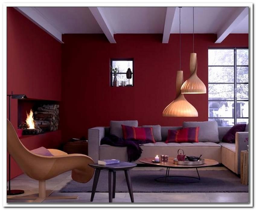 Wohnzimmer 2 Farben Streichen