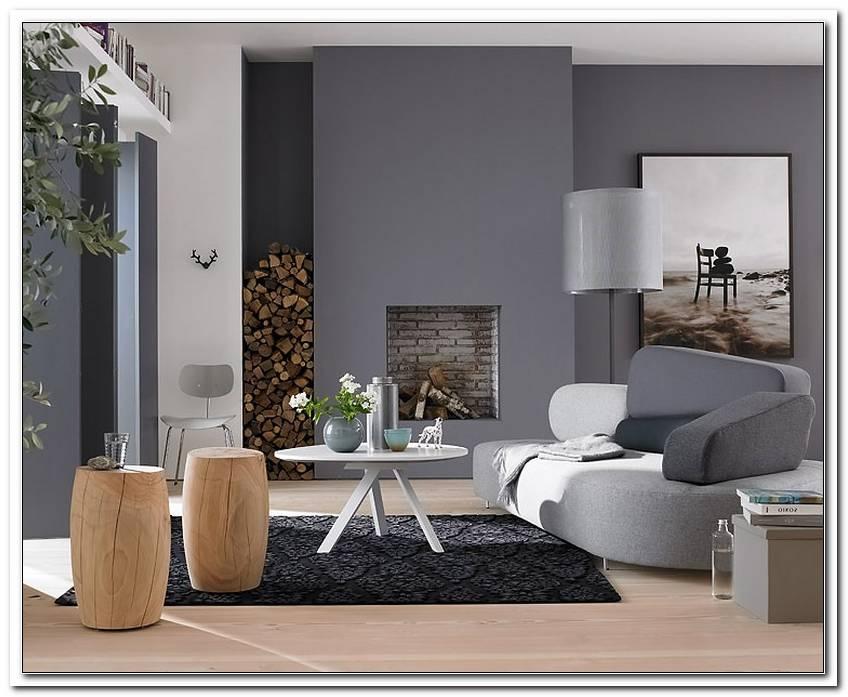 Wohnzimmer 2 Farbig Streichen