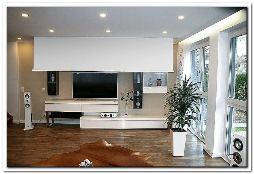 Wohnzimmer 4 Meter