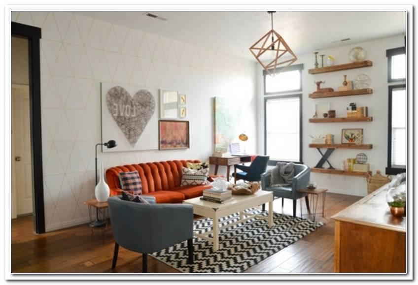 Wohnzimmer 50er 60er