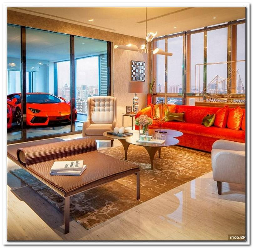 Wohnzimmer ?Ber Garage