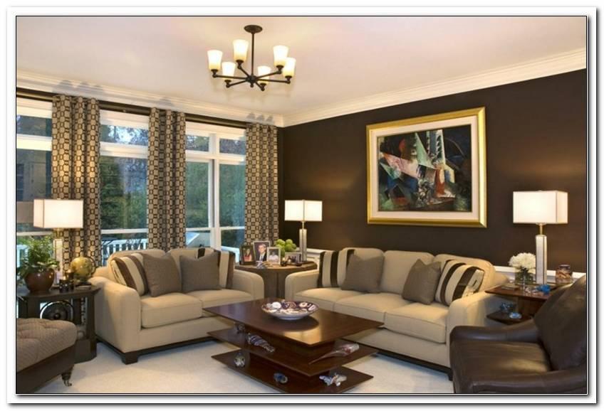 Wohnzimmer Braun