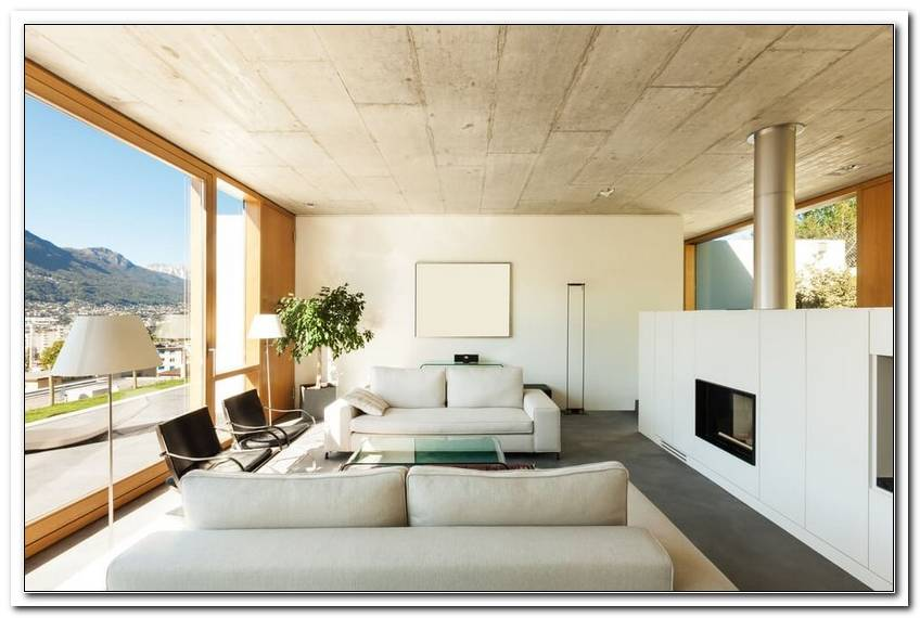 Wohnzimmer Decken Aus Holz