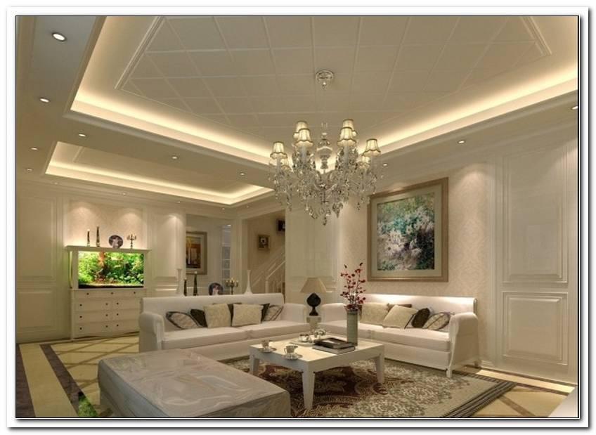 Wohnzimmer Deckengestaltung