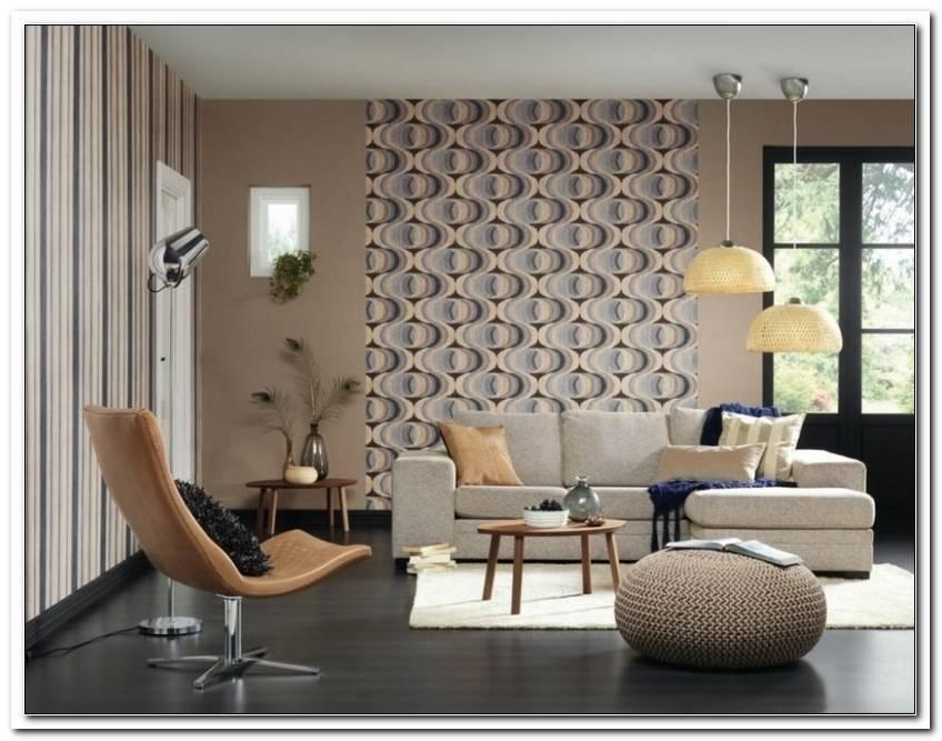 Wohnzimmer Gestalten Tapete