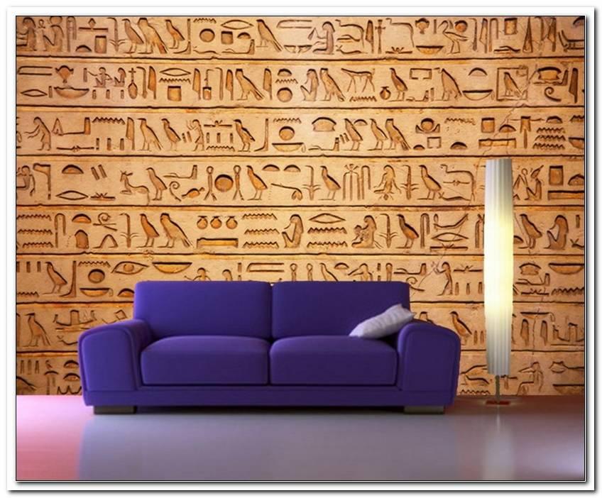 Wohnzimmer Im ?Gyptischen Stil