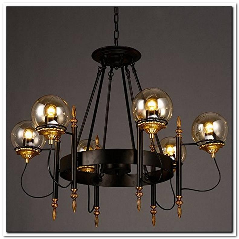 Wohnzimmer Lampe 6 Flammig