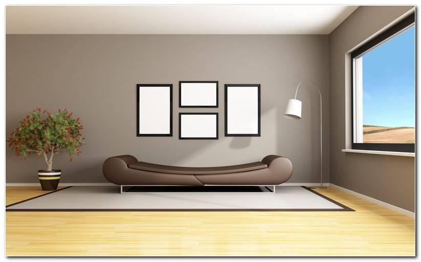 Wohnzimmer Nur Eine Wand Streichen