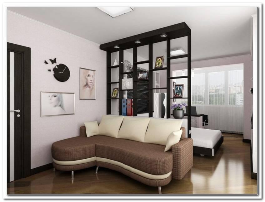 Wohnzimmer Und Schlafzimmer Trennen