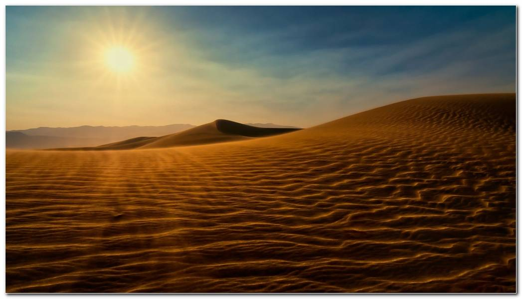 Wonderful Desert Nature Wallpaper Background Image