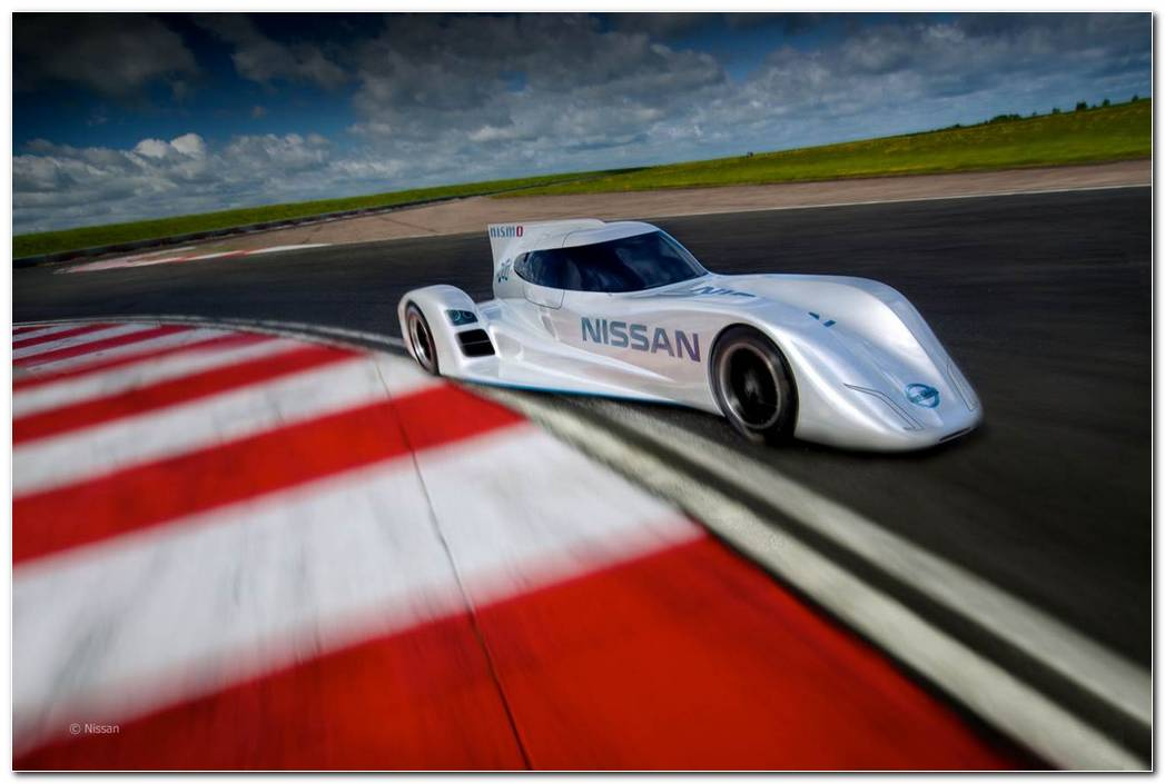 World Fastest Electric Car 2015 Nissan ZEOD RC Car Review Wallpapers 8 1280x853
