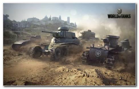 World Of Tanks Game Renault FT Tanks
