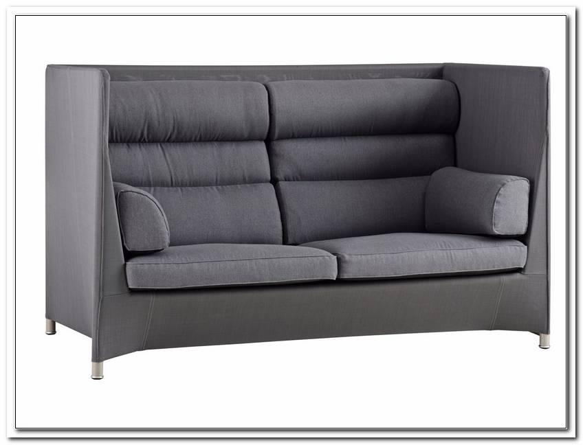 Zweisitzer Sofa Hohe R?Ckenlehne
