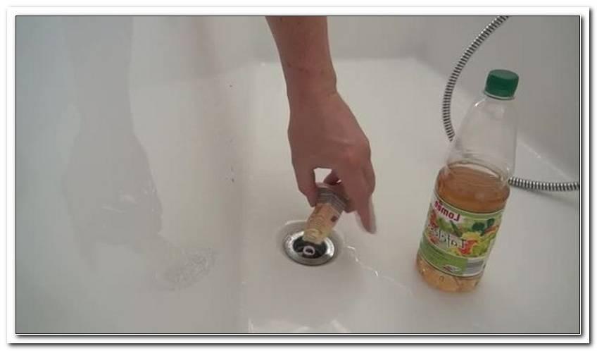 Abfluss Verstopft Badewanne Hausmittel
