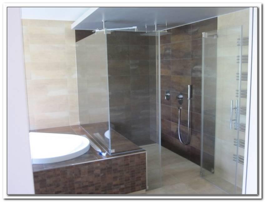 Abtrennung Dusche Badewanne