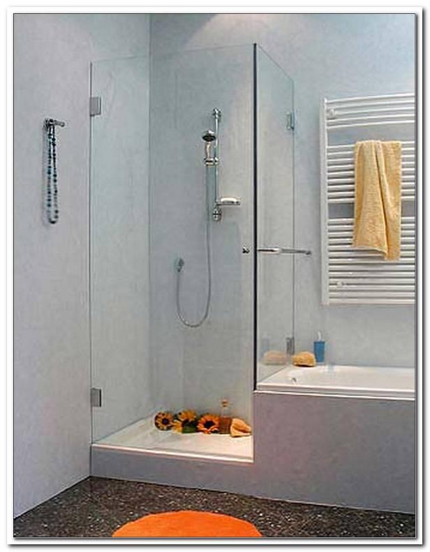 Abtrennung Zwischen Badewanne Und Dusche