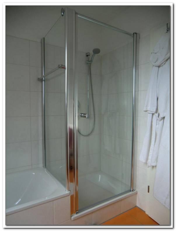 Abtrennung Zwischen Dusche Und Badewanne