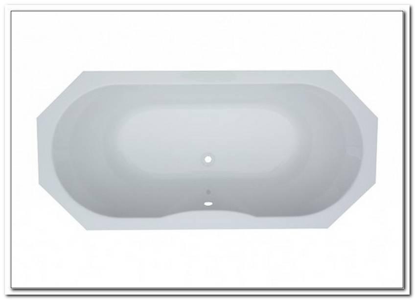 Achteck Badewanne 190