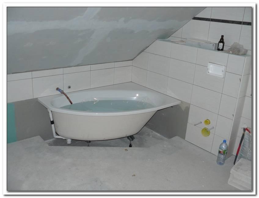 Acryl Badewanne Einbauen