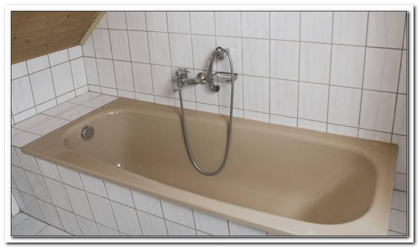 Acryl Badewanne Sanieren