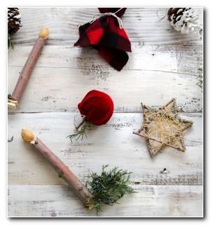 Adornos Para Arbol De Navidad Rusticos