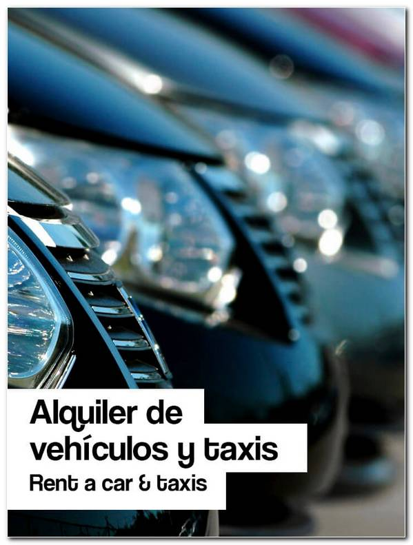 Alquiler Vehiculos Y Taxis