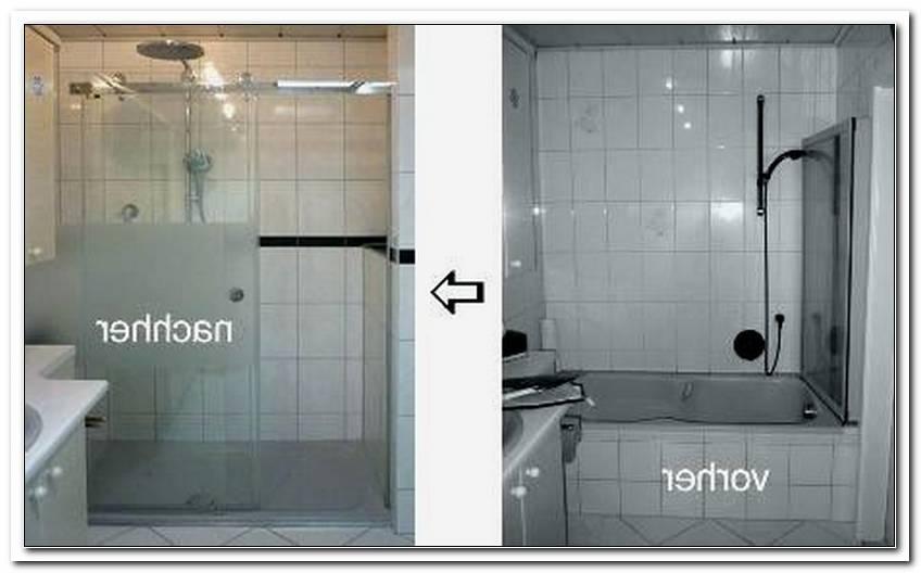 Austausch Wanne Gegen Dusche