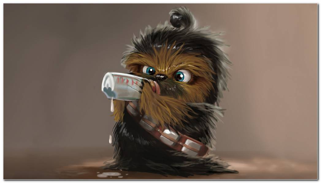 Baby Chewbacca Hd Wallpaper