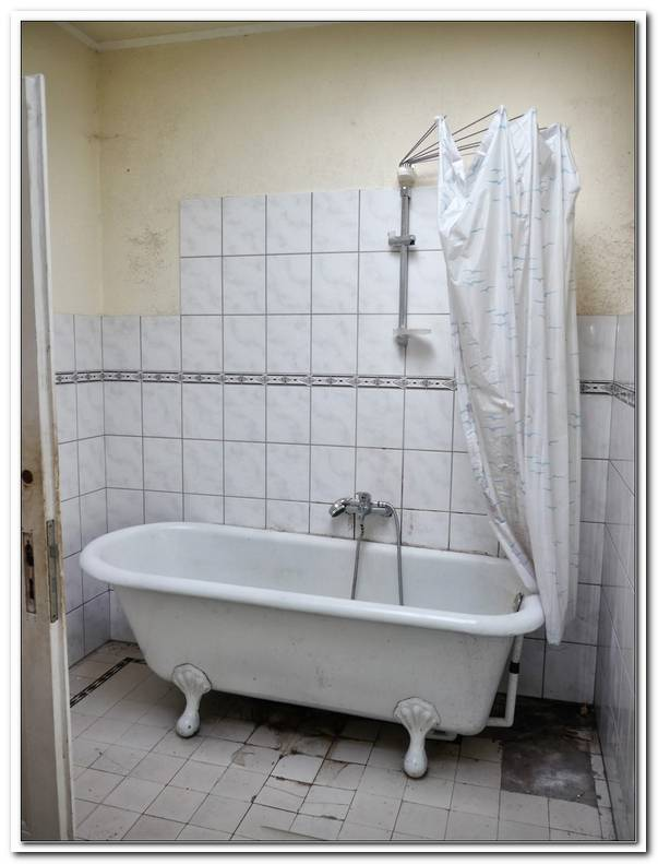 Badewanne Duschvorhang
