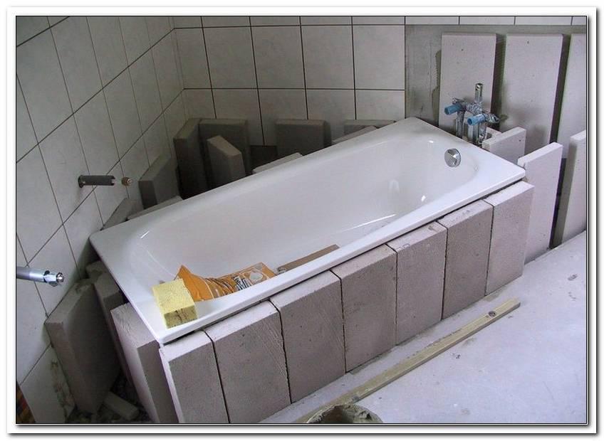 Badewanne Einbauen Ohne Wannentr?ger