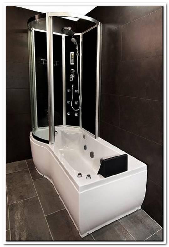 Badewanne Mit Duschzone Und Whirlpool