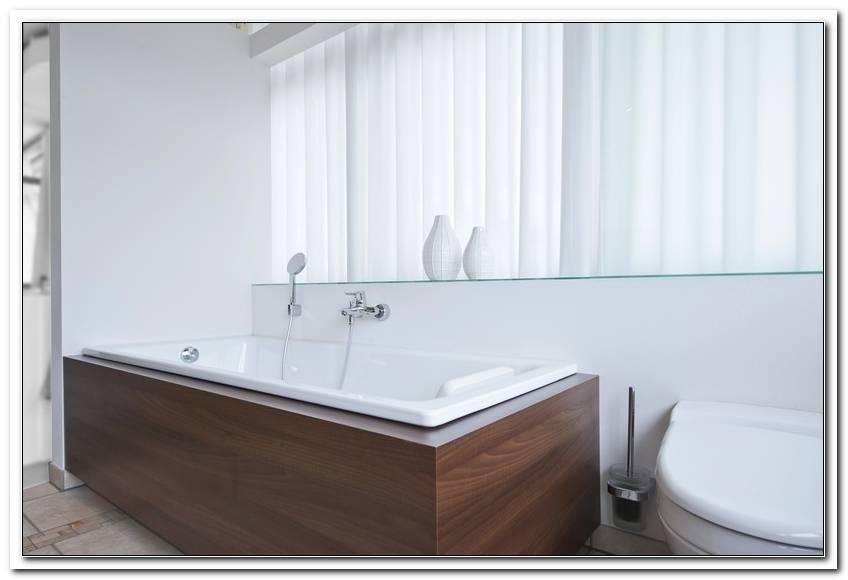Badewanne Mit Holz Sch?rze