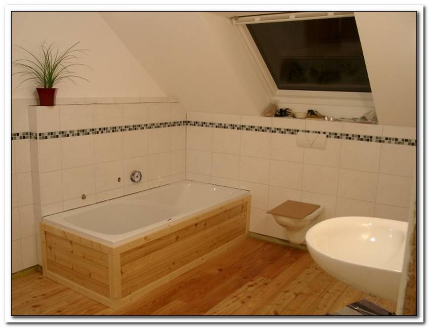 Badewanne Mit Holz Verkleiden