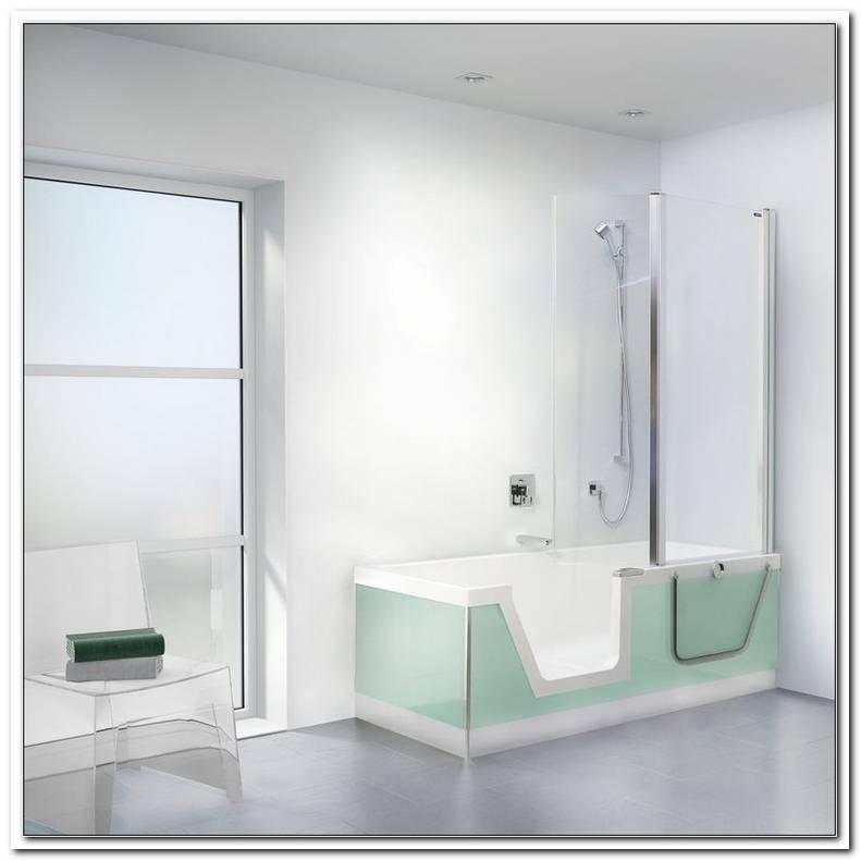 Badewanne Mit T?r Und Dusche Duscholux