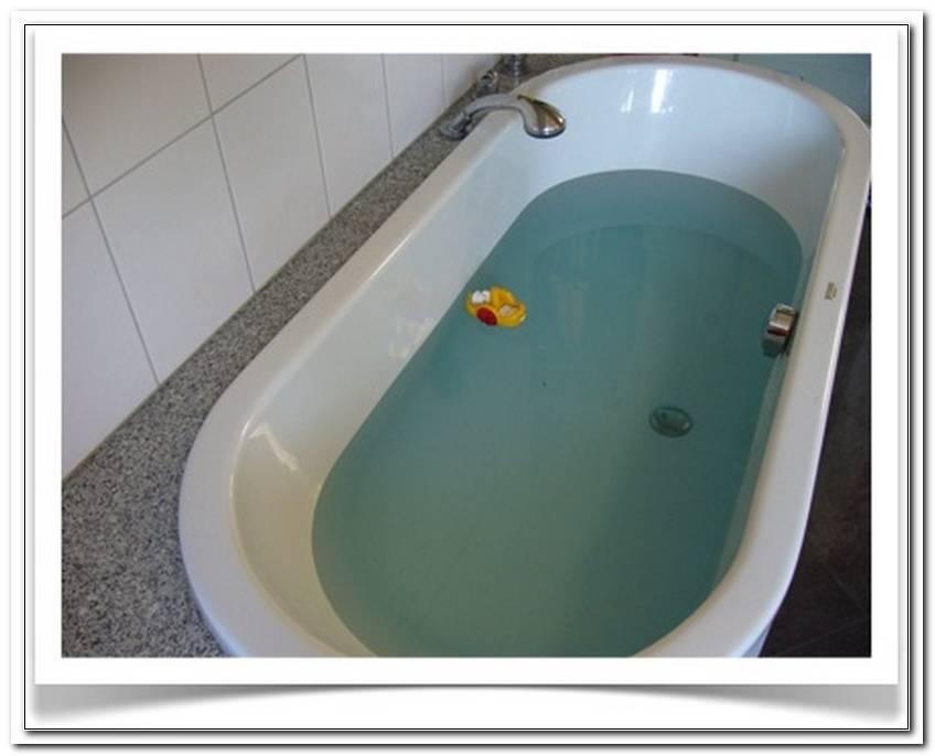 Badewanne Wassermenge