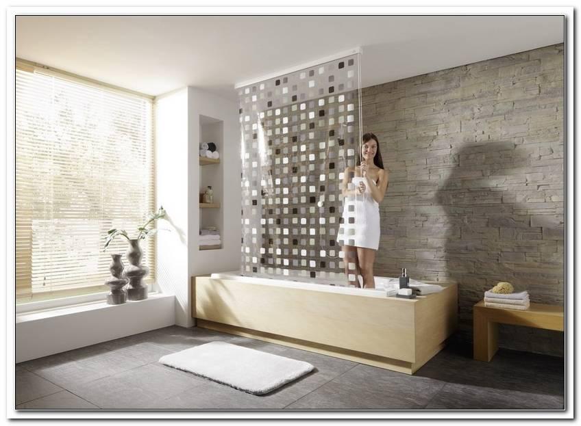 Badewannenvorhang Alternative