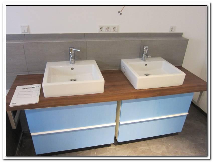 Badezimmer Doppelwaschbecken Mit Unterschrank