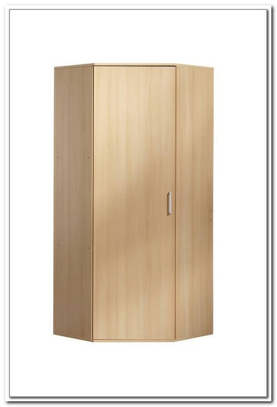 Badezimmer Eckschrank Holz