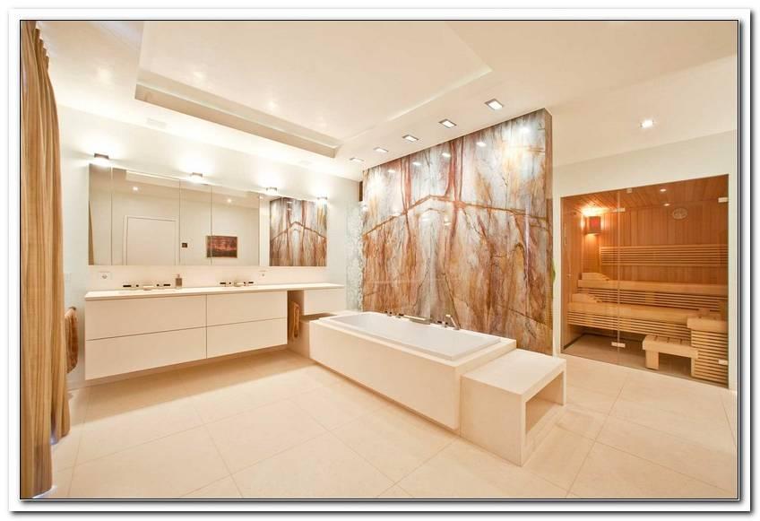 Badezimmer Kalkstein