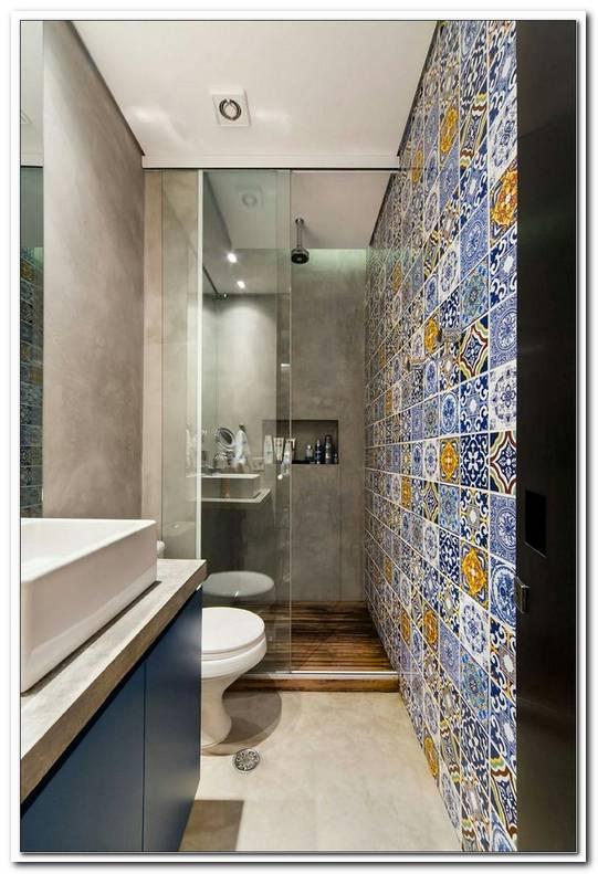 Badezimmer Klein Fliesen