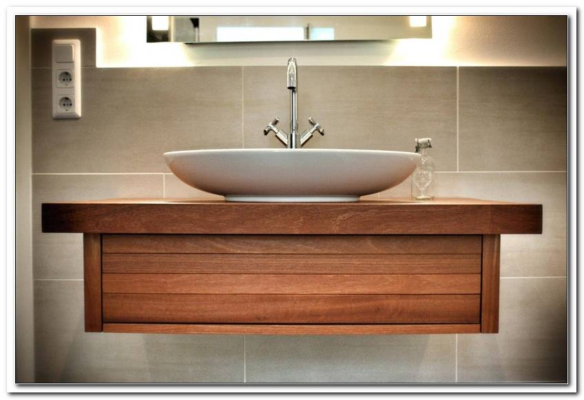 Badezimmer Waschtisch Mit Unterschrank