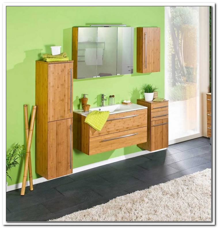 Badezimmerm?bel Holz Massiv