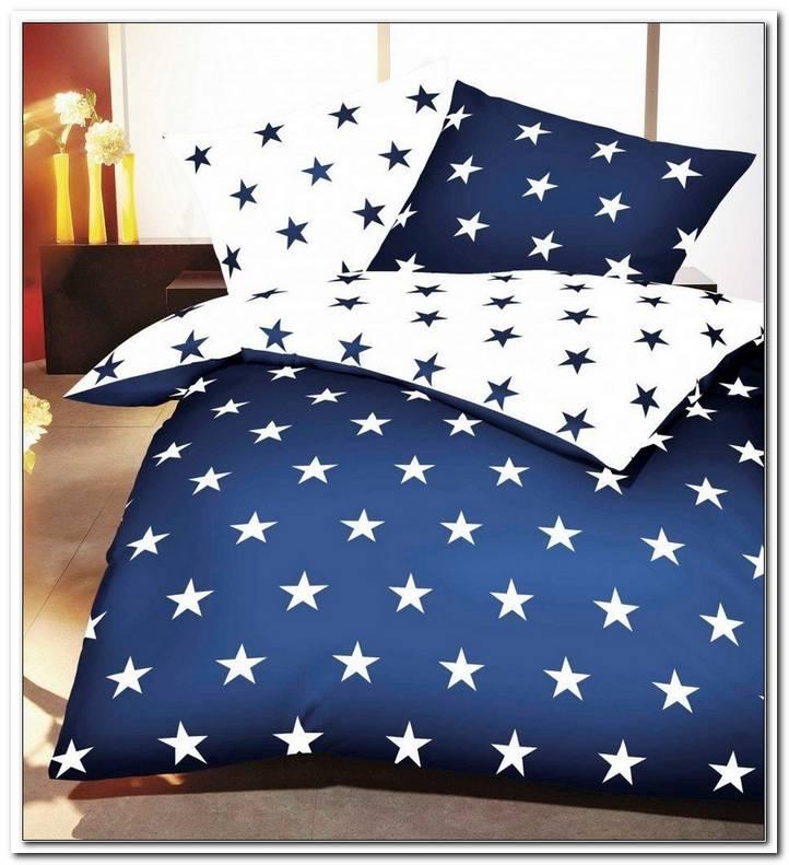 Bettw?sche Dunkelblau Sterne
